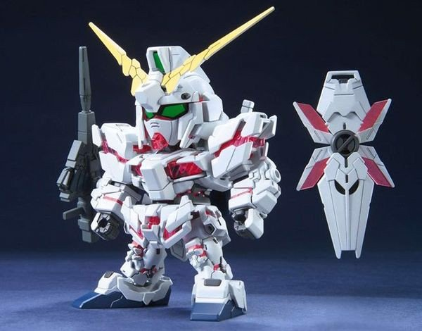 figure Unicorn Gundam SD BB
