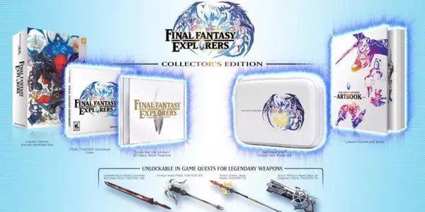 Final Fantasy Explorers Collector's Edition