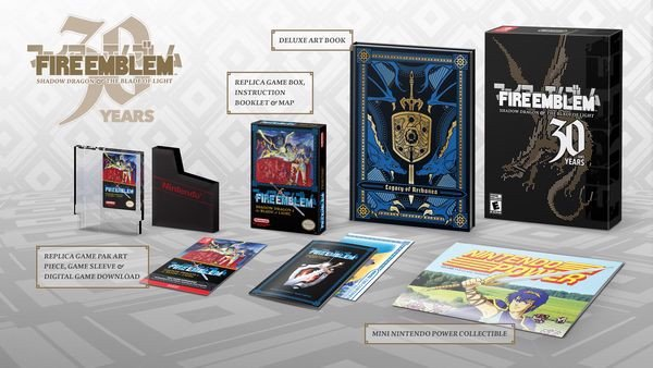 Fire Emblem 30th Anniversary Edition nintendo switch