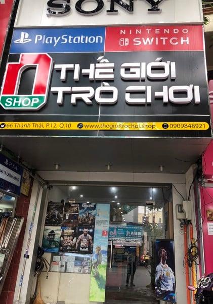 Cửa hàng bán máy chơi game nShop