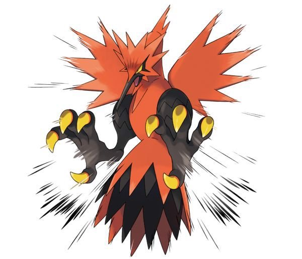 Galarian Zapdos Pokemon Sword and Shield