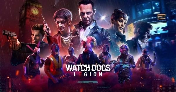 Game AAA PS5 Xbox Series Watch Dogs Legion