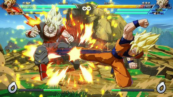 Game bảy viên ngọc rồng đối kháng Dragon Ball Fighter Z