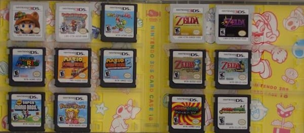 Game collector Nintendo