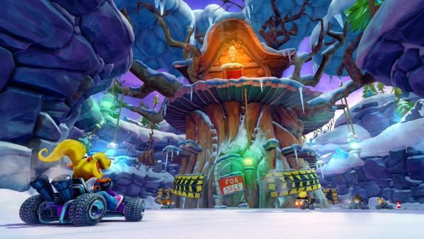mua game CTR Crash Team Racing Nitro Fueled cho Nintendo Switch đua xe cáo