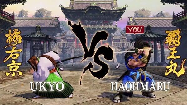 Game điện tử thùng đánh lộn 2 người Samurai Shodown