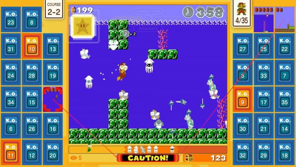 Game free eShop Super Mario Bros 35