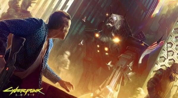 game giong Cyberpunk 2077
