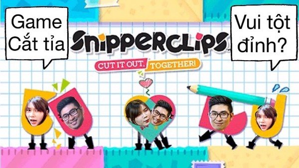 game hay nhất nintendo switch snipperclips