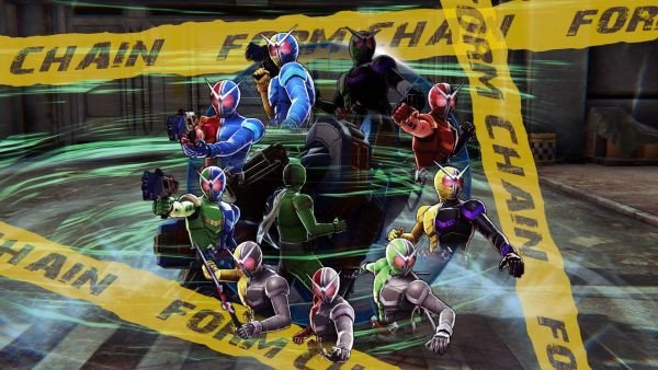 game Kamen Rider Memory of Heroez switch ps4