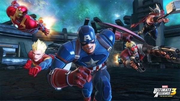Marvel Ultimate Alliance 3 The Black Order Game 2 người Nintendo Switch