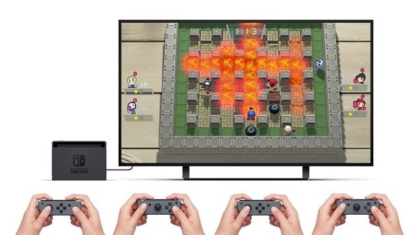 game nintendo switch 4 player