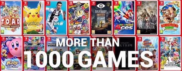 game Nintendo Switch đa dạng hơn PS Vita