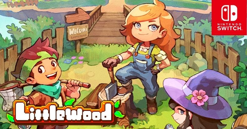 Game Nintendo Switch Littlewood Game Animal Crossing Stardew Valley