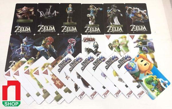 game shop bán bài amiibo Zelda