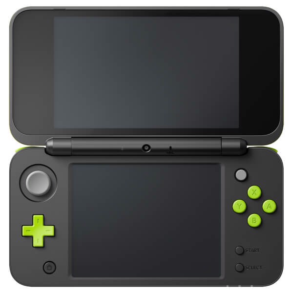game shop bán New Nintendo 2DS LL Black Lime Green tại Việt Nam
