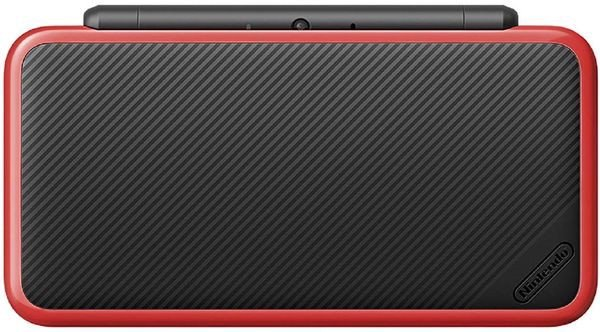 game shop bán New Nintendo 2DS LL black red