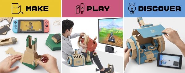 game shop bán Nintendo Labo Toy-con 03 Vehicle Kit Nintendo Switch