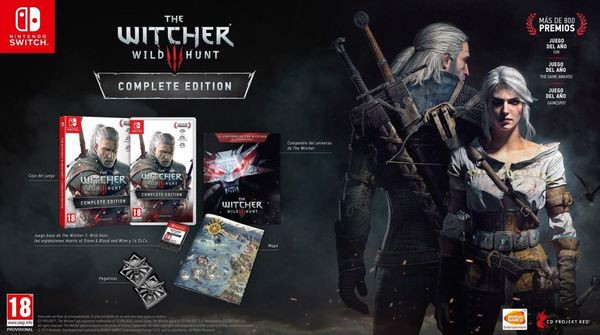 game shop bán The Witcher 3 Wild Hunt cho Nintendo Switch