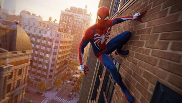 game spider man ps4