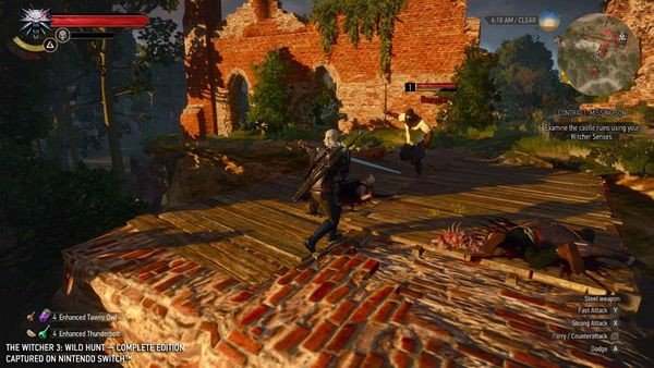 game The Witcher 3 Wild Hunt cho Nintendo Switch chính hãng