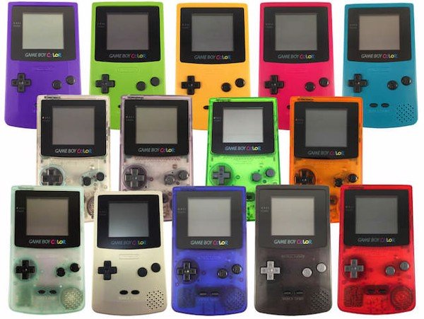 Gameboy Color all