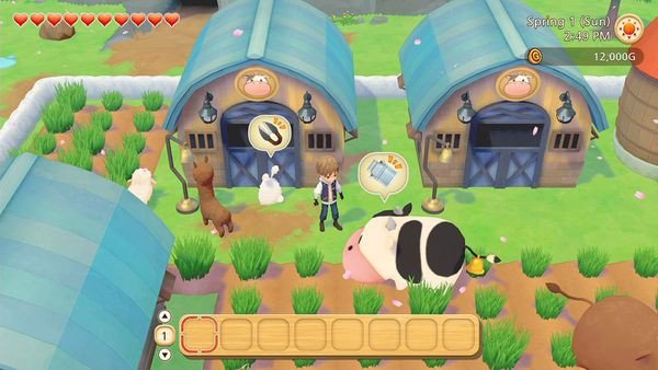 gameplay Story of Seasons Pioneers of Olive Town Nintendo Switch