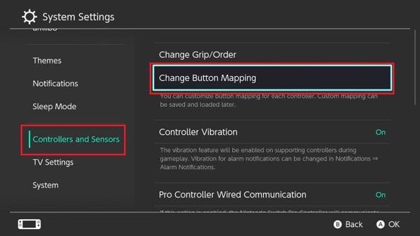Change Button Mapping Hướng dẫn tự cài đặt nút bấm cho Nintendo Switch
