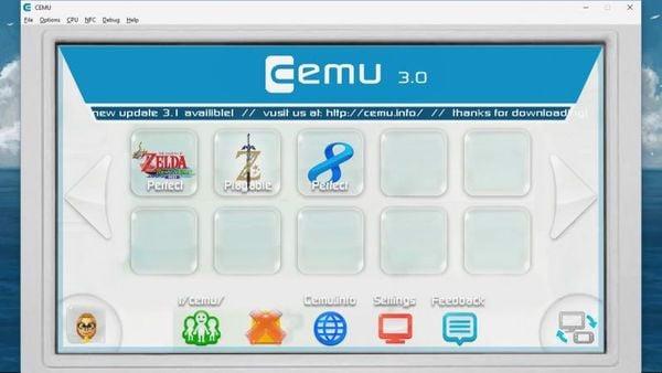 giả lập nintendo switch emulator cemu