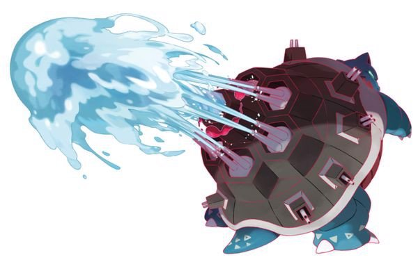 Gigantamax Blastoise Pokemon Sword and Shield