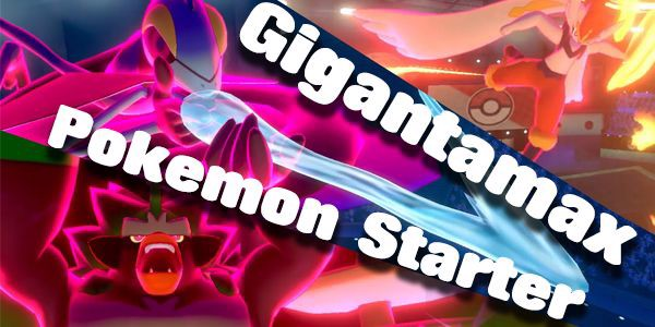 Gigantamax Pokemon Starter