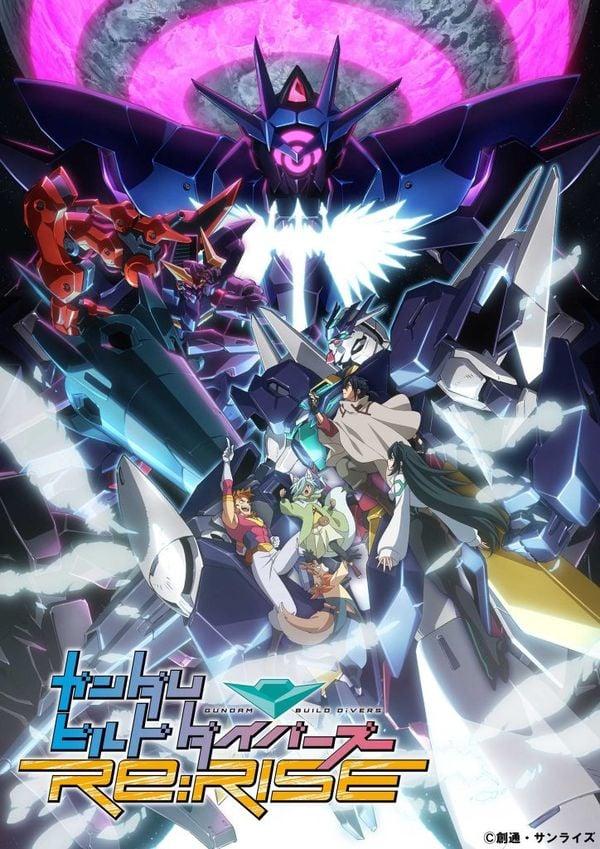 Gundam Build Divers ReRISE Season 2 key visual