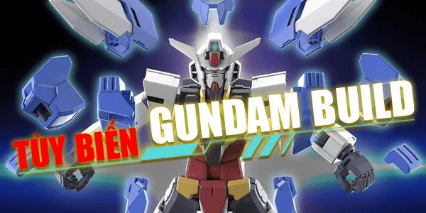 gundam build tùy biến nhiều bộ phận