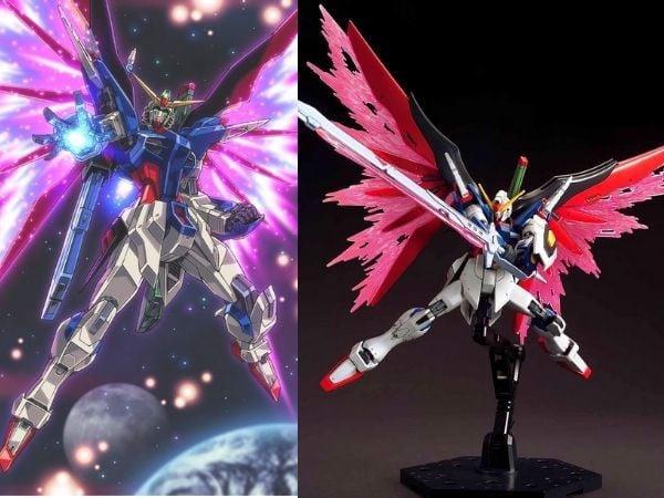 Gundam có cánh đẹp Gundam Destiny