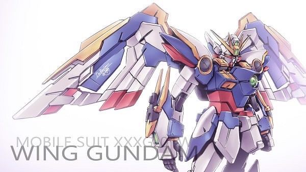 Wing Gundam - Top Gundam có cánh đẹp nhất được yêu thích