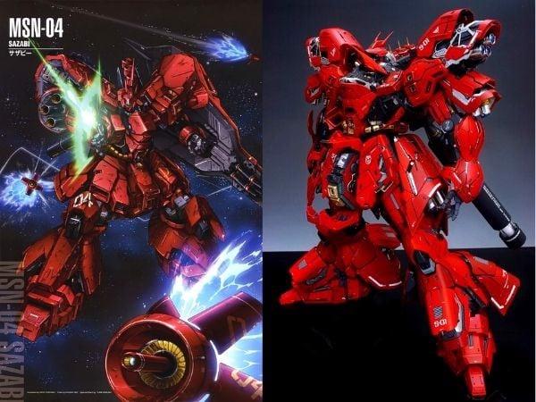 Gundam đẹp kích thước lớn Sazabi
