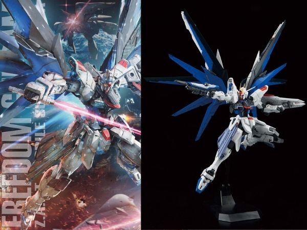Gundam đẹp nhất giá rẻ Freedom Gundam