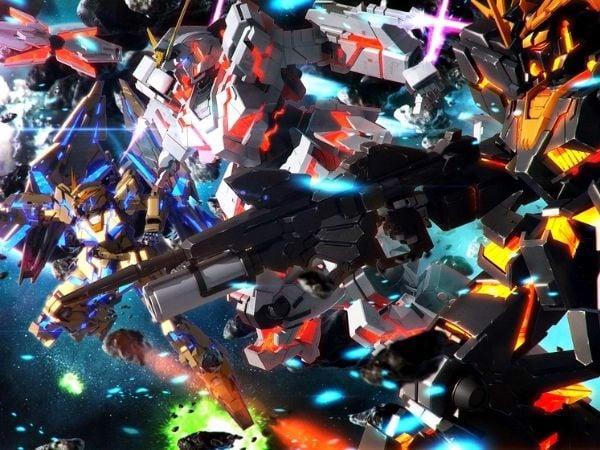 Gundam đẹp nhất mạnh nhất Unicorn Gundam