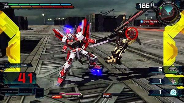 Gundam Extreme VS. Maxiboost ON 185 mobile suit