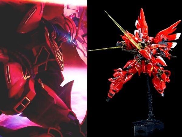Gundam kích thước khủng đẹp Sinanju