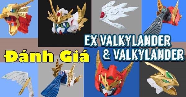 review Gundam SD Ex Valkylander và Valkylander