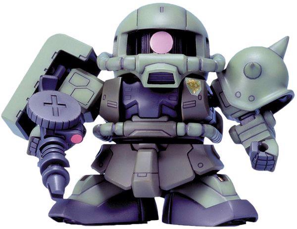 gundam shop bán MS-06F Zaku II sd gundam