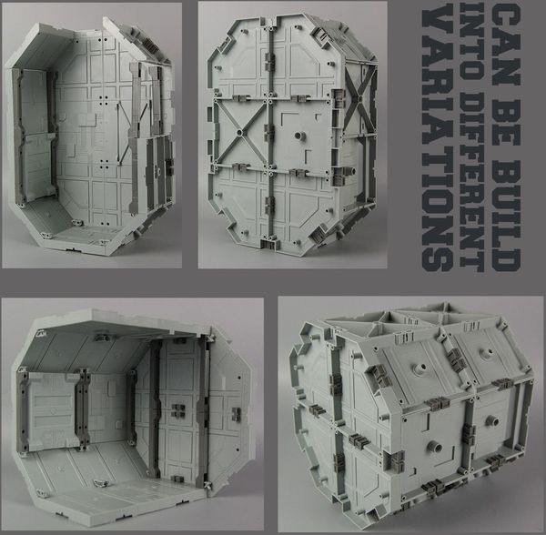 gunpla shop bán Hangar Octagon Base SD HG RG MG Gundam