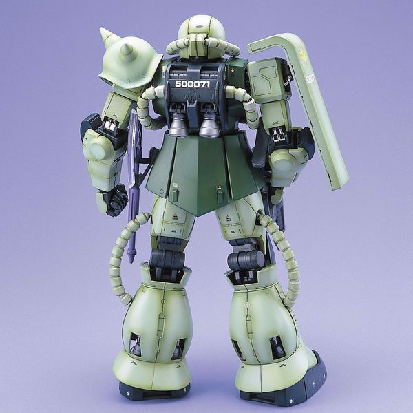review MS-06F Zaku II pg gundam