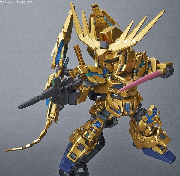 gunpla Unicorn Gundam Phenex Narrative SD Cross Silhouette bandai