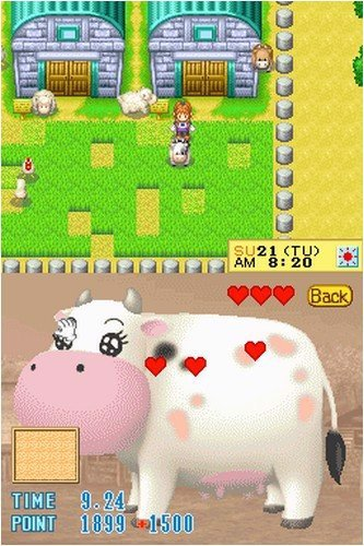 HARVEST MOON DS CUTE nshop