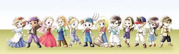 Harvest Moon Friends Of Mineral Town remake 2020