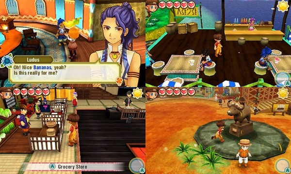 HARVEST MOON STORY OF SEASONS - TRIO OF TOWNS