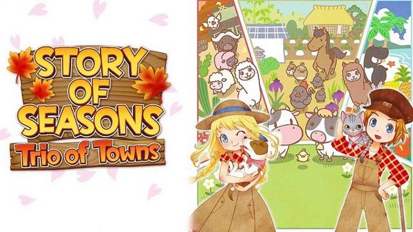 HARVEST MOON STORY OF SEASONS - TRIO OF TOWNS shop