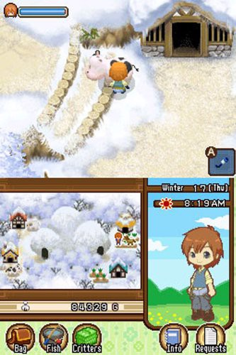 HARVEST MOON THE TALE OF TWO TOWNS shop
